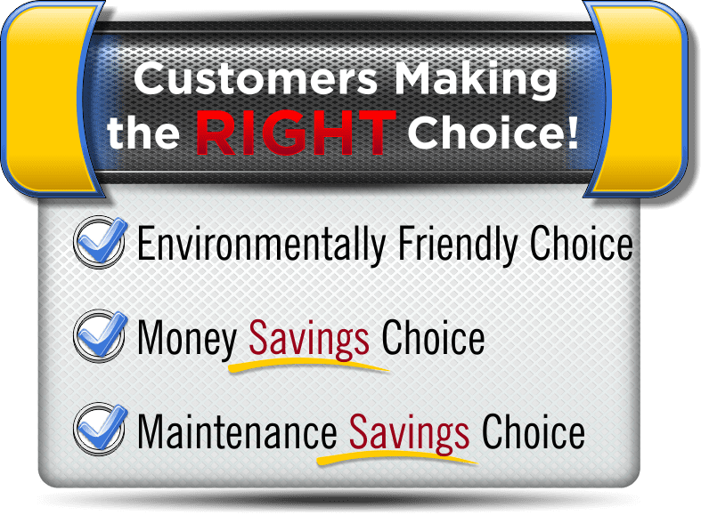 Customers making the right Choice by using our Open Ceiling Cleaning Services