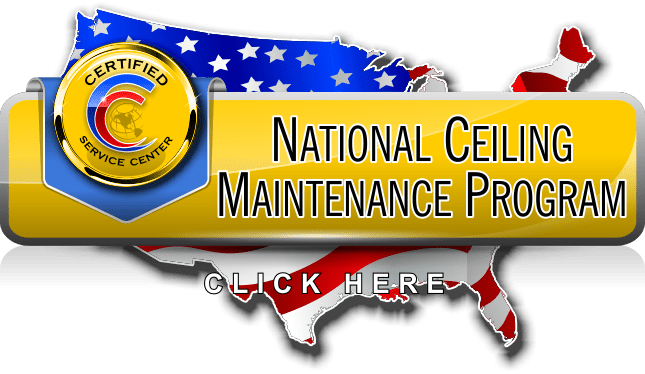 National Ceiling Maintenance Program for Managing Multi-Location Facility
